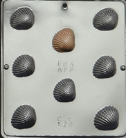 172 Sea Shell Chocolate Candy Mold