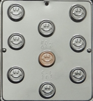 181 Smiley Face Chocolate Candy Mold
