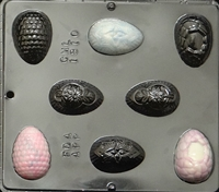 1810 Fancy Egg Assembly Chocolate Candy Mold
