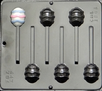 1841 Egg Pop Lollipop Chocolate Candy Mold