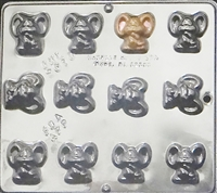 2010 Mouse Chocolate Candy Mold
