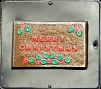 2016 Merry Christmas Card Chocolate Candy Mold