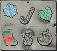 2024 Christmas Assortment Chocolate Candy Mold