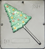 2057 Christmas Tree Lollipop Chocolate Candy Mold