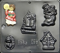 2076 Christmas Musical Assortment Chocolate Candy Mold