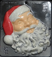 2078 Large Santa Face Chocolate Candy Mold
