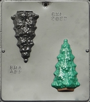 2099 Christmas Tree Chocolate Candy Mold