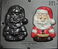 2115 Santa Claus Chocolate Candy Mold