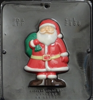 2151 Santa Claus Chocolate Candy Mold