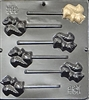 245 Squirrel Lollipop Chocolate Candy Mold