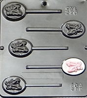 270 Ballet Slippers Lollipop Chocolate Candy Mold