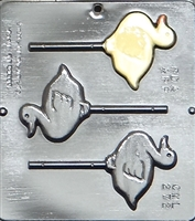272 Duck Lollipop Chocolate Candy Mold