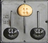 276 Cabbage Baby Lollipop Chocolate Candy Mold