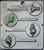 295 Dinosaurs Lollipop Chocolate Candy Mold
