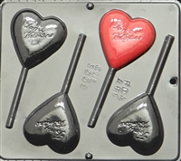 3009 To My Valentine Heart Lollipop