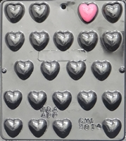 3014 Small Heart Pieces Chocolate Candy Mold