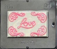 3022 Love Card Chocolate Candy Mold