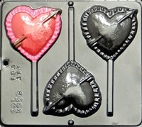 3028 Heart with Arrow Pop Lollipop