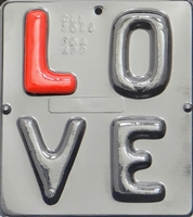 3035 L O V E Letters Chocolate Candy