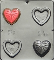 3049 Heart Box with Chocolate Candy Mold