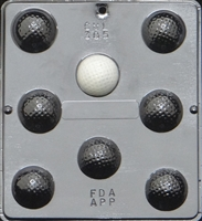 305 Golf Ball Assembly Chocolate Candy Mold