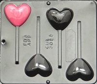 3055 Heart Pop Lollipop Chocolate Candy Mold