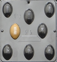 323 Football Assembly Chocolate Candy Mold