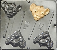 3353 Lion King Baby Lion Lollipop Chocolate Candy Mold