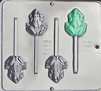 3369 Frog Lollipop Chocolate Candy Mold