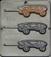 3392 Skateboard Lollipop Chocolate Candy Mold