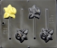 3451 Daffodil Lollipop Chocolate Candy Mold