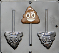 3458 Poop Emoji Chocolate Candy Mold
