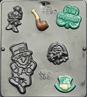 4005 St. Patrick's Day Assortment Chocolate Candy Mold