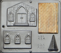 414 Church Assembly Chocolate Candy Mold