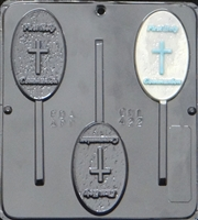422 First Holy Communion Lollipop Chocolate Candy Mold