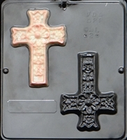 424 Cross Decorative Chocolate Candy Mold