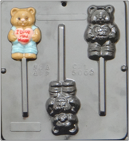 5005 I Love You Mom Lollipop Chocolate Candy Mold
