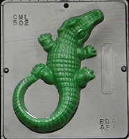502 Aligator Chocolate Candy Mold