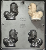 507 Dog Pekinese Chocolate Candy Mold