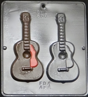 508 Guitar Chocolate Candy Mold