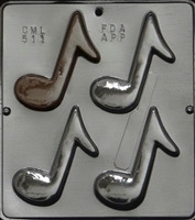 511 Musical Notes Chocolate Candy Mold