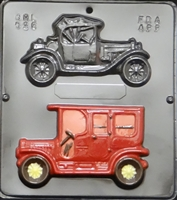 526 Antique Cars Chocolate Candy Mold