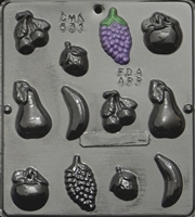 531 Fruit Assortment Pieces Chocolate Candy Mold