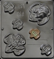 541 Girl Scout Pieces Chocolate Candy Mold