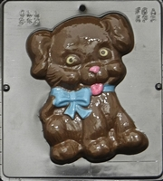 545 Happy Puppy Chocolate Candy Mold