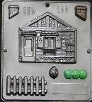 580 House Assembly 1 of 2 Chocolate Candy Mold