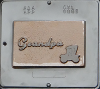 6002 Grandpa Card Chocolate Candy Mold
