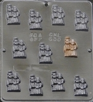 638 Bride and Groom Pieces Chocolate Candy