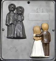 644 Dancing Bride & Groom Chocolate Candy