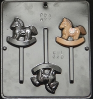 650  Rocking Horse Lollipop Chocolate Candy 